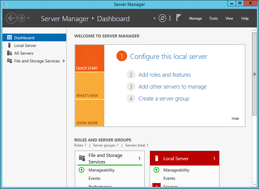How to perform Post-Installation Tasks in Windows Server 2012