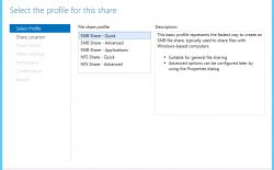 How to create a share folder in windows server